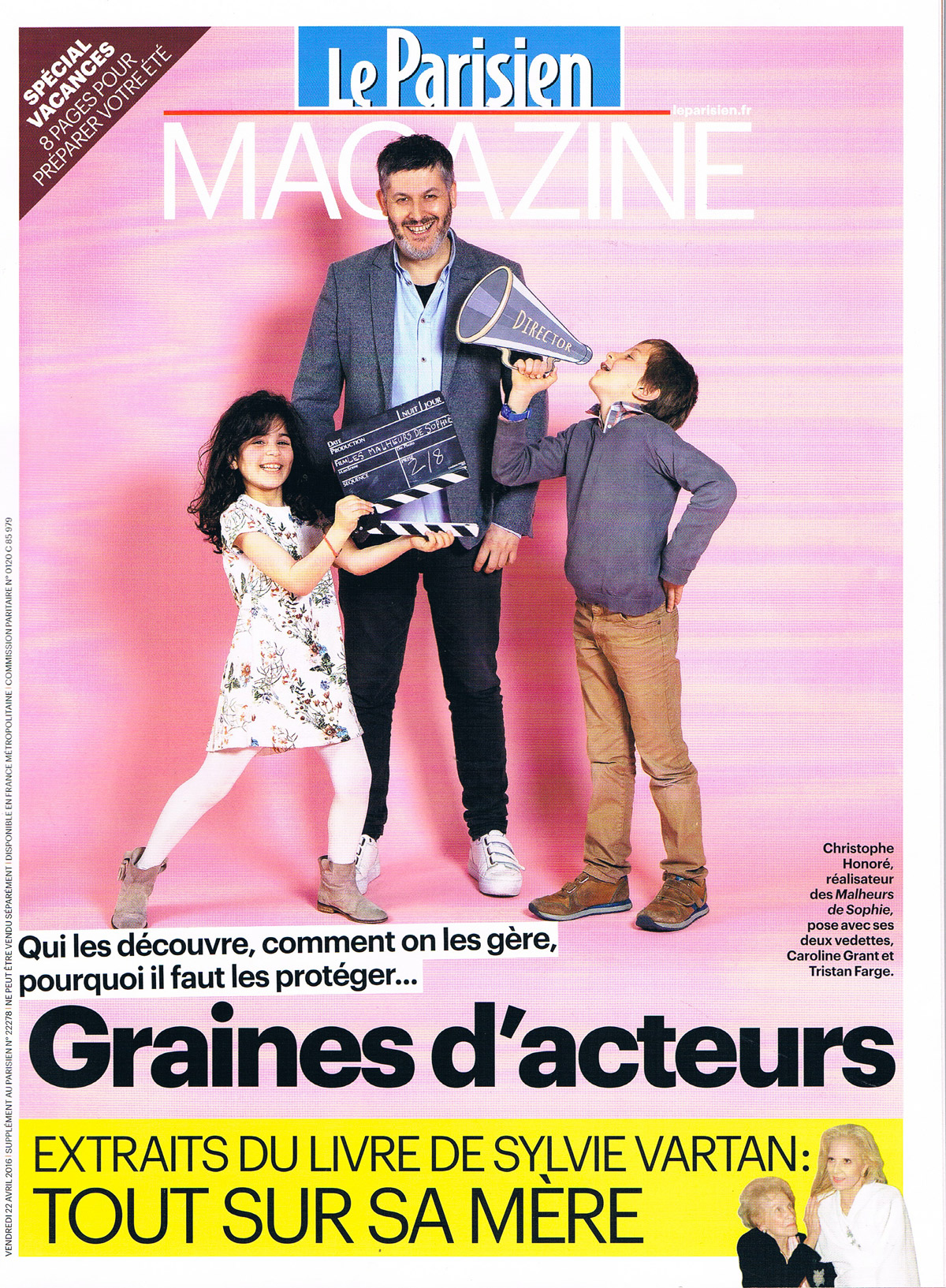 Le Parisien 22 Avril 2016