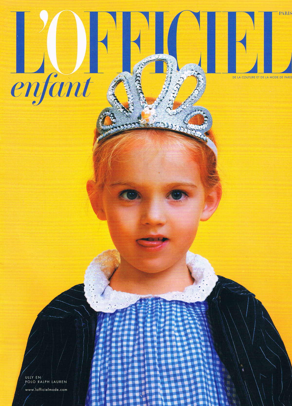 L Officiel Enfant Mars 2016