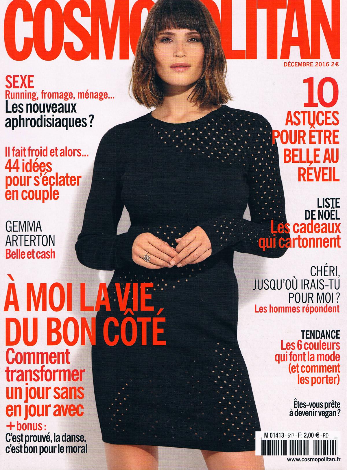 Cosmopolitan Décembre 2016