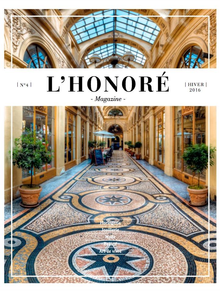 L'Honoré Magazine Hiver 2016
