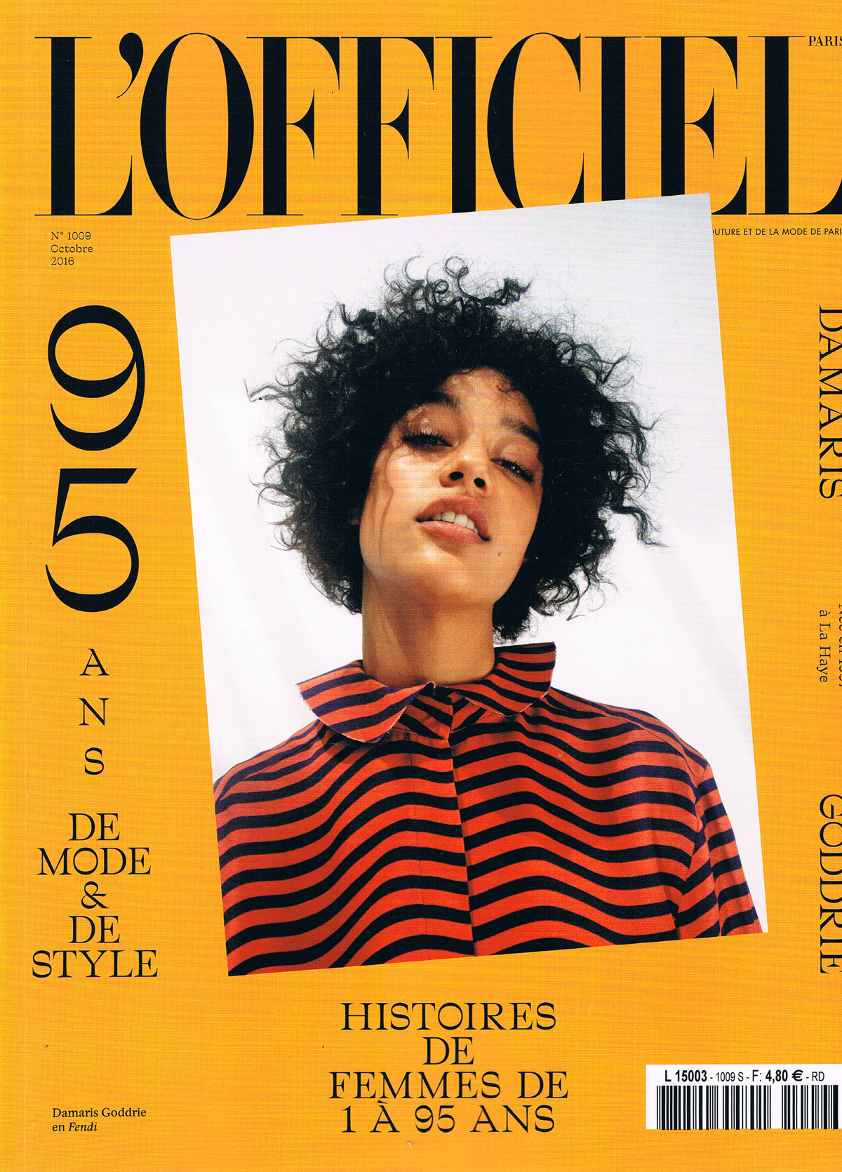 L'Officiel Octobre 2016