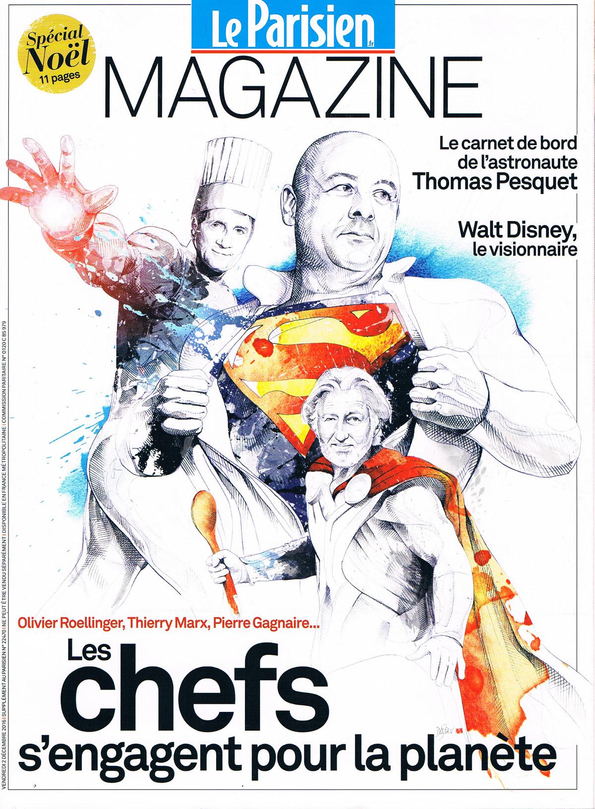 Le Parisien Magazine 02 Décembre 2016