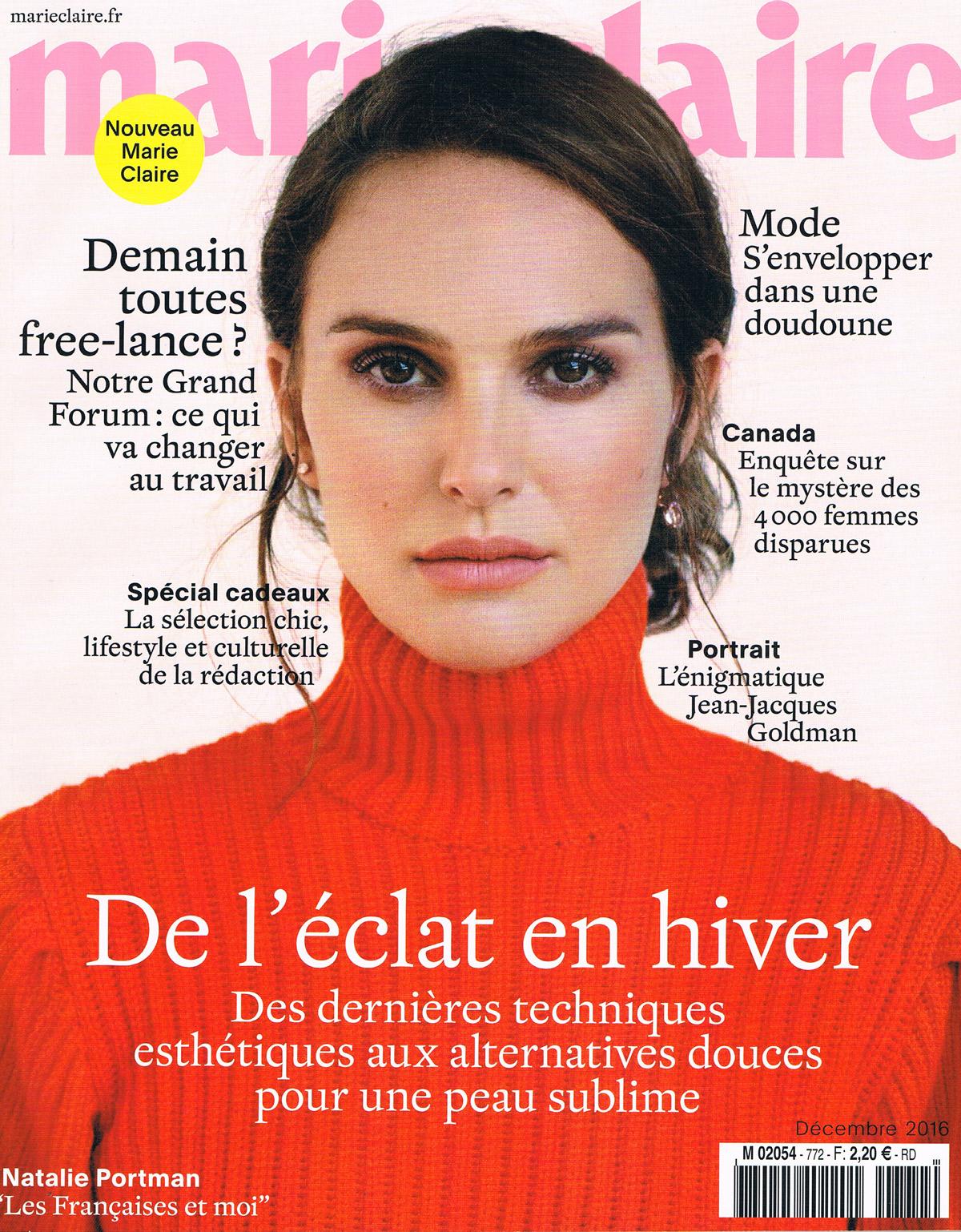 Marie Claire Décembre 2016