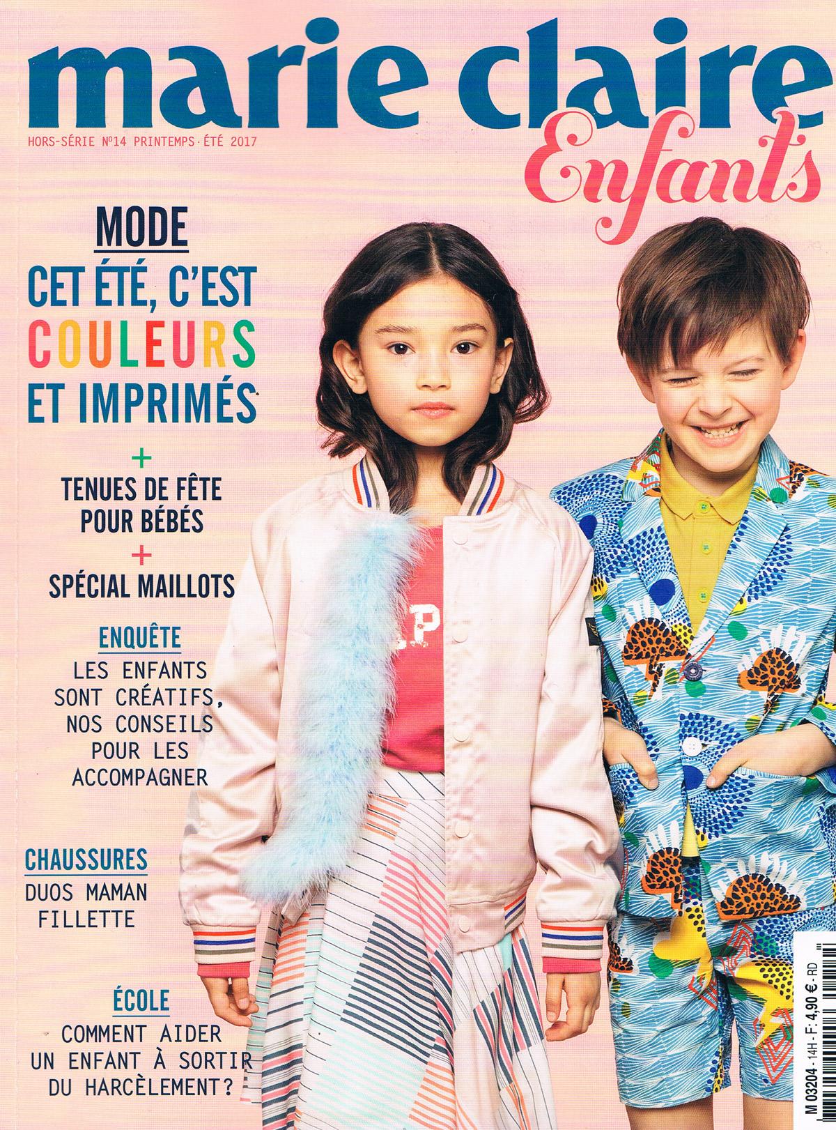 Marie Claire enfants PE 2017