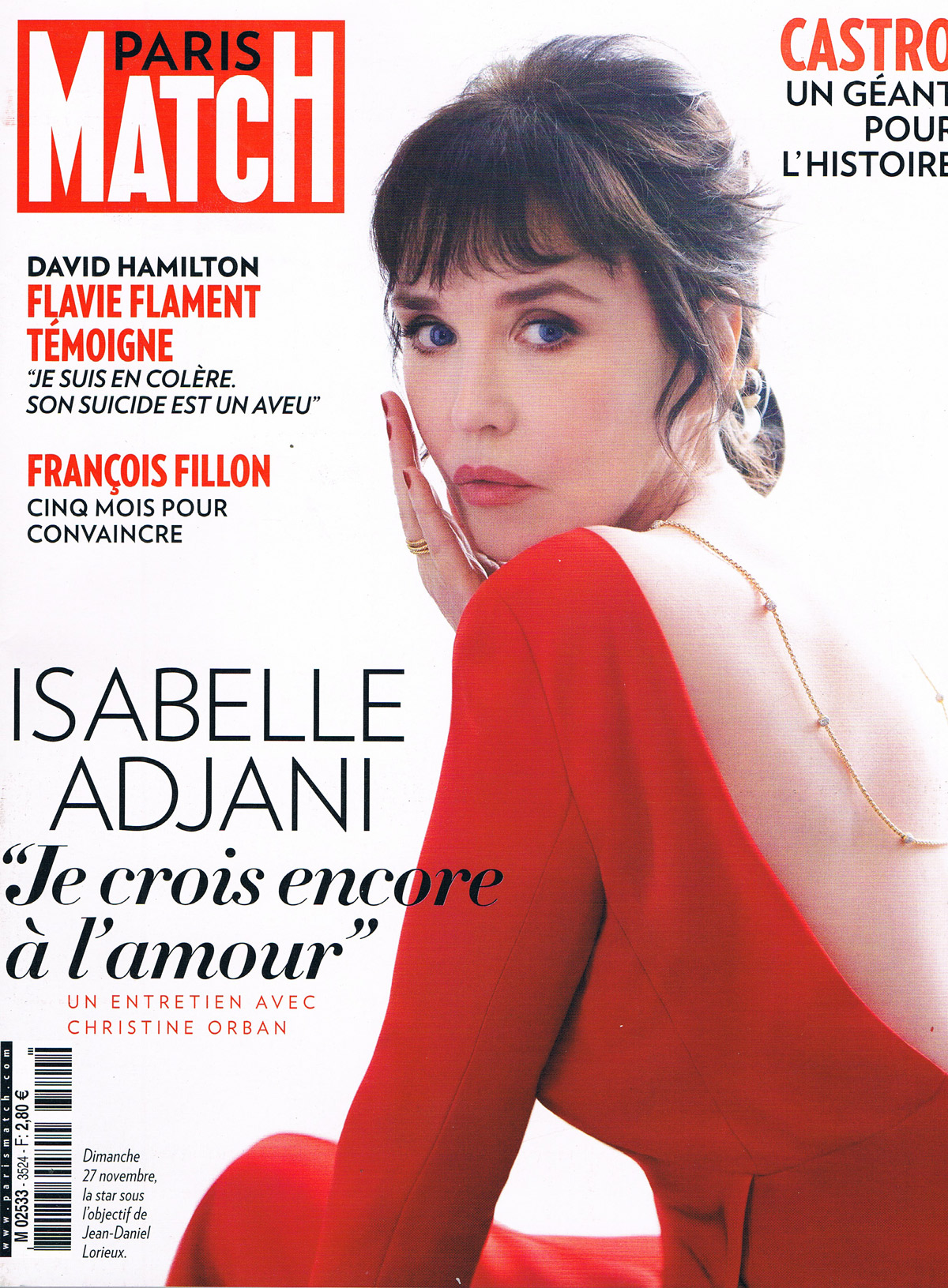 Paris Match 1er Décembre 2016