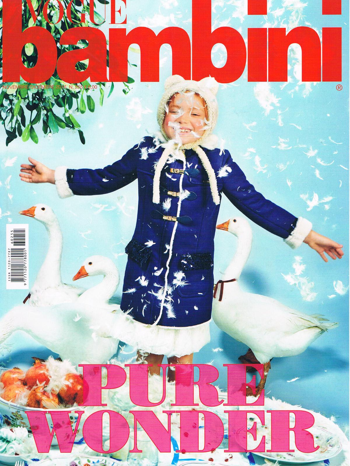 Vogue Bambini Novembre Décembre 2016