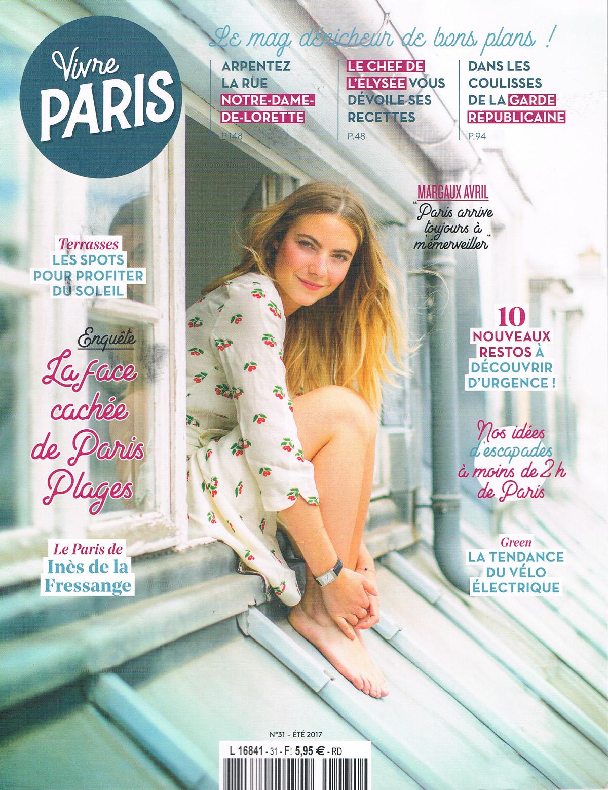 Vivre Paris Eté 2017