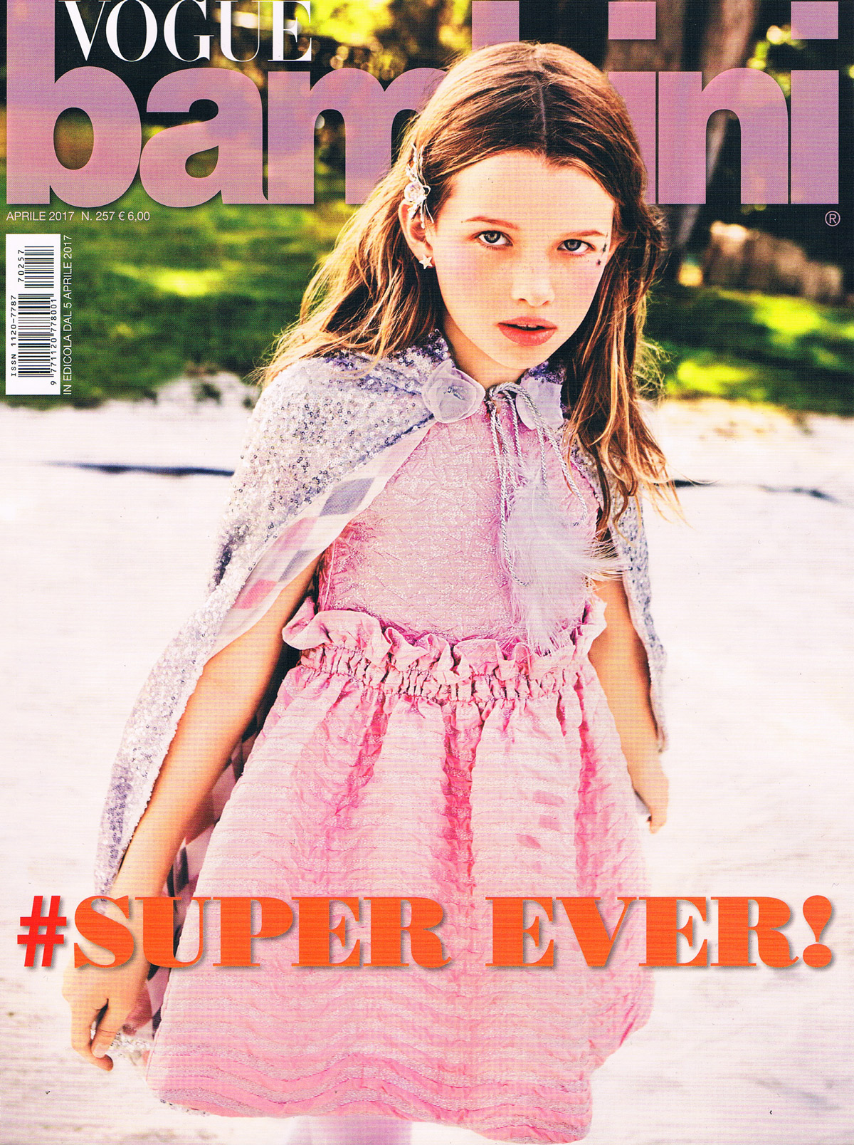 Vogue Bambini Avril 2017