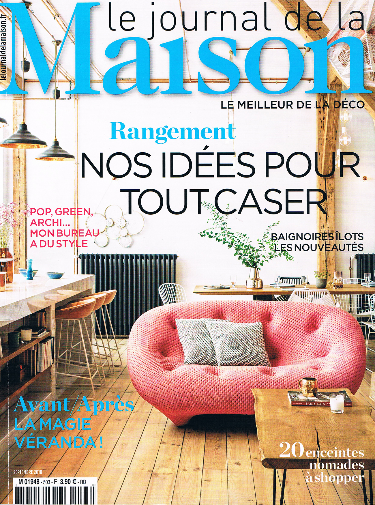 LE JOURNAL DE LA MAISON SEPT 18