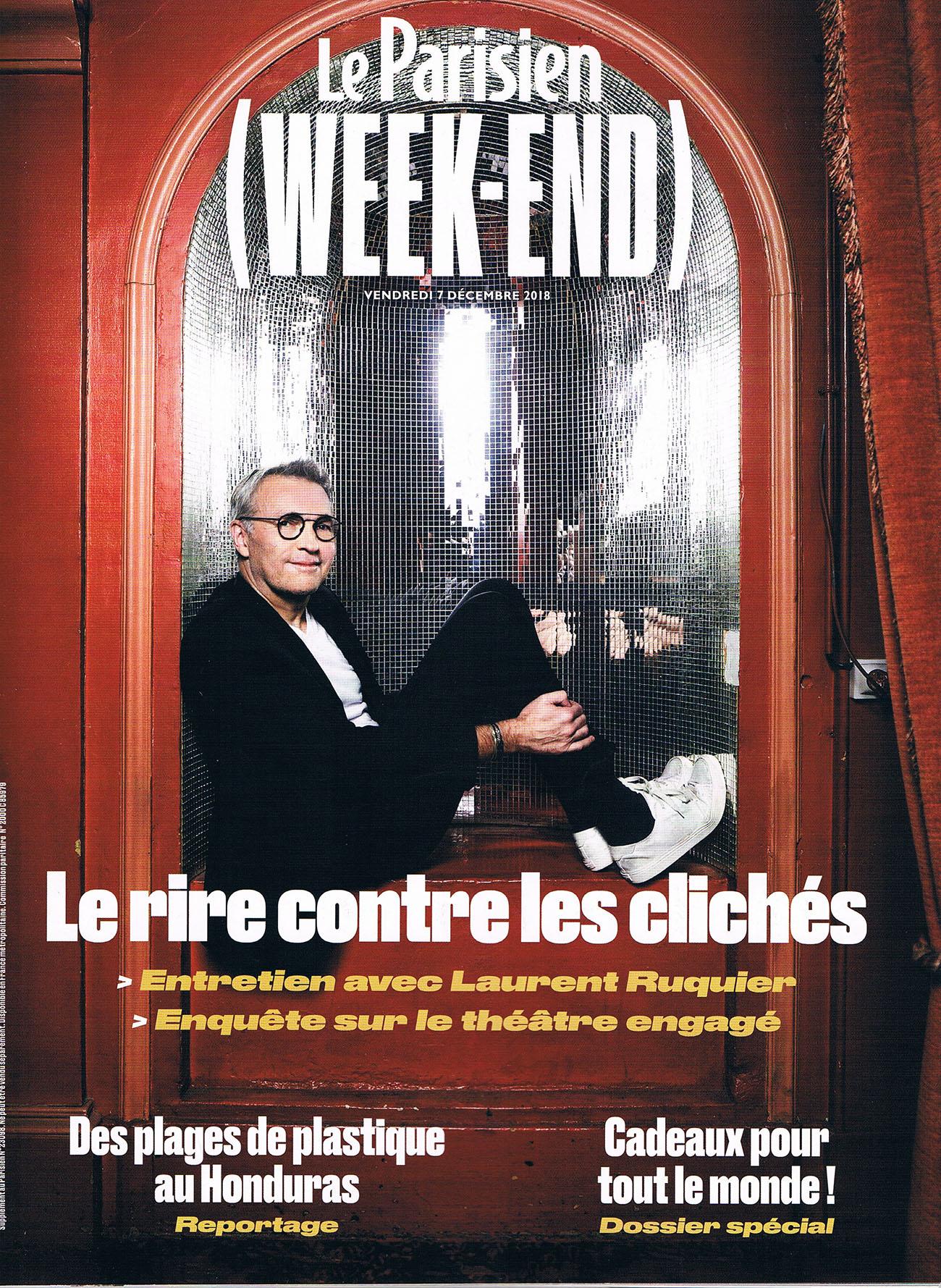LE PARISIEN DECEMBRE 18