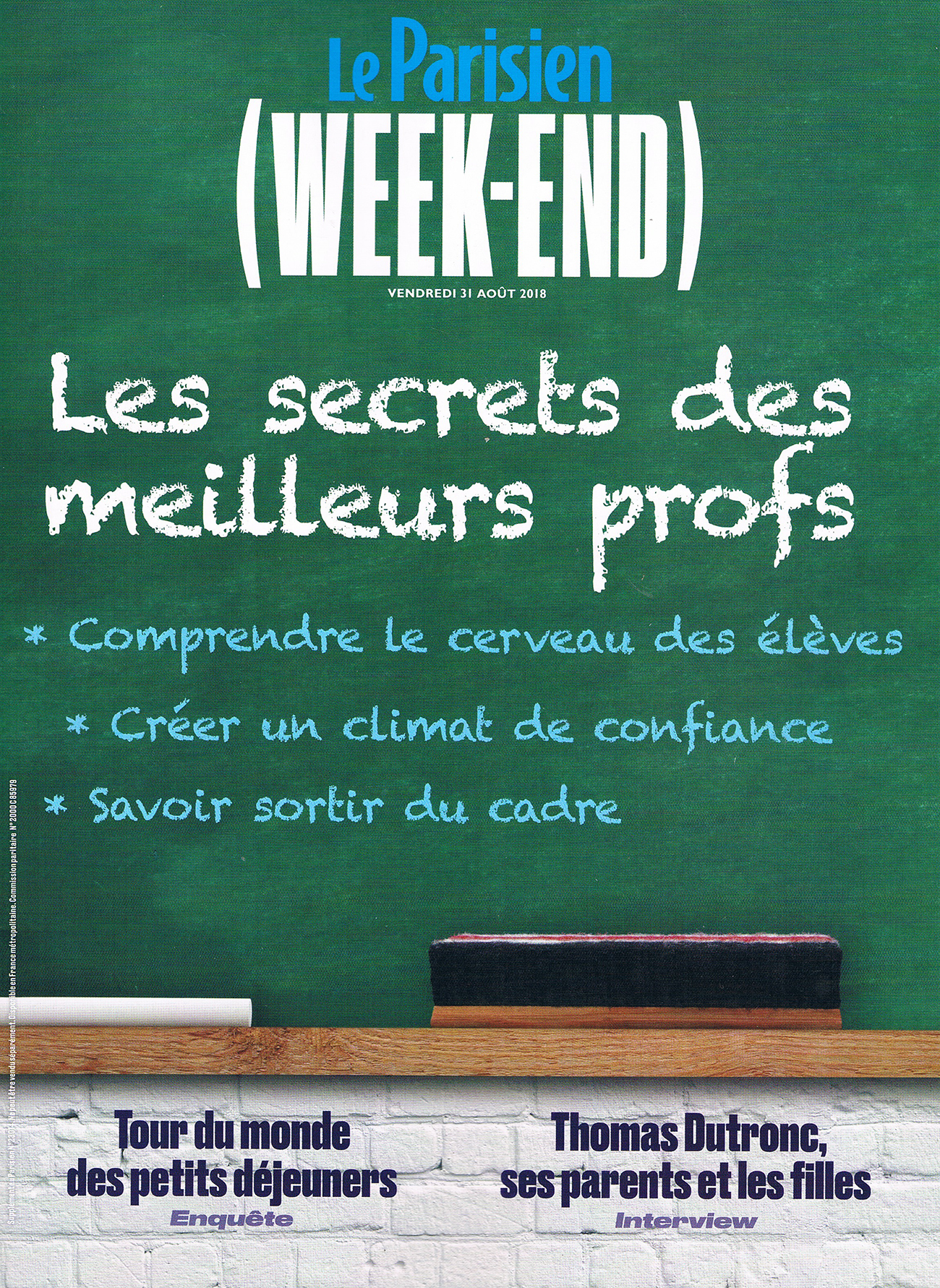 LE PARISIEN WEEK-END AOUT 18